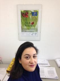 Panel de información en Lafuente Tomey con Ana Lafuente.