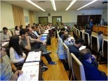 Al curso asistieron más de 70 personas (capataces de explotación agrícola, gerentes de centrales y estudiantes de último curso de CTA).