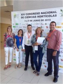 Miembros del Grupo de Investigación en Postcosecha de la Universidad Miguel Hernández