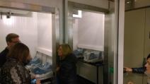 Paliflex setup dentro de las cámaras de frío en TOP