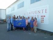 Visita a las facilidades de Lafuente Tomey en La Almunia de Doña Godina, Zaragoza