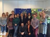 Octava reunión oficial de proyecto y seguimiento por parte del monitor experto en Holanda