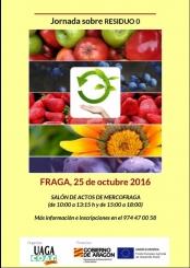 Jornada técnica sobre RESIDUO 0 en Fraga